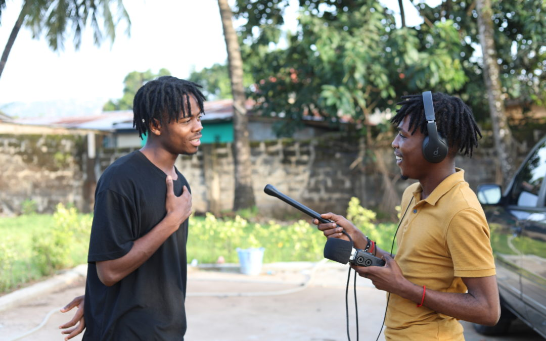 Podcasting In Sierra Leone – This is how we do it